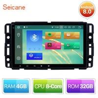 Seicane 8 Inch Android 8.0/8.1 Car Radio DVD Player Head Unit GPS For 2007 2008 2009 2010 2016 GMC Canyon Yukon Terrain Acadia