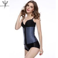 Star Corsets And Bustiers Latex Waist Cincher Corset Underbust Girdles Body Shapers For Women Corsetti Unterbrust
