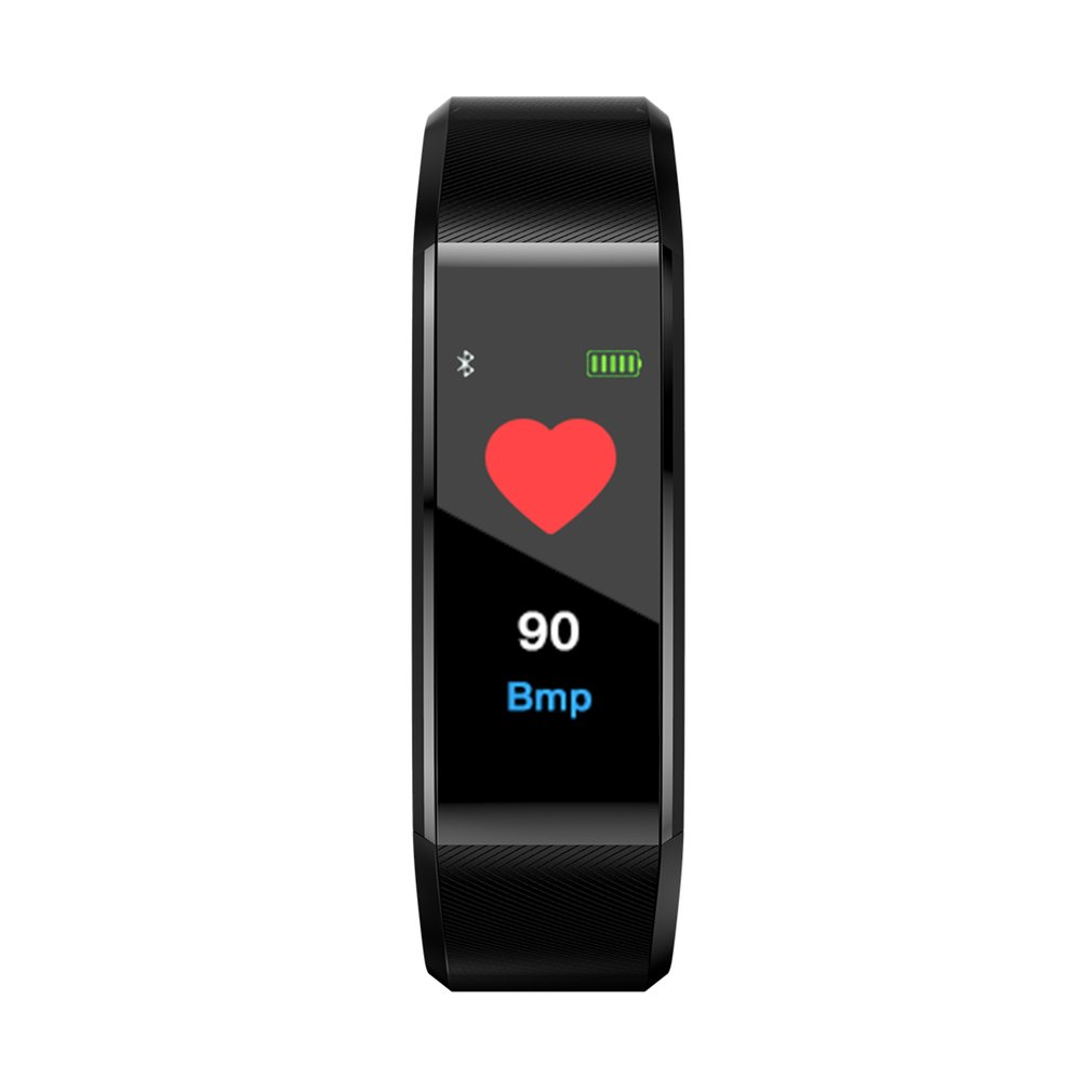 Fashion 115PLUS Smart Band Waterproof Sport Pedometer Heart Rate Blood Pressure Monitor Bluetooth Smart Bracelet For Android IOS
