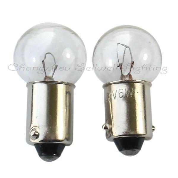 ¡Ba9s 14x28 12v 6w nuevo! Bombillas miniatura lámparas A086 Sellwell fábrica de iluminación
