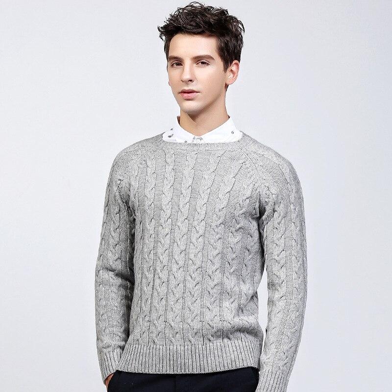 eaaf9239a4 Quovadis men s turtleneck sweater orange casual wi...US  24.00. 2017 winter  wool sweater men fashion knit Twisti.