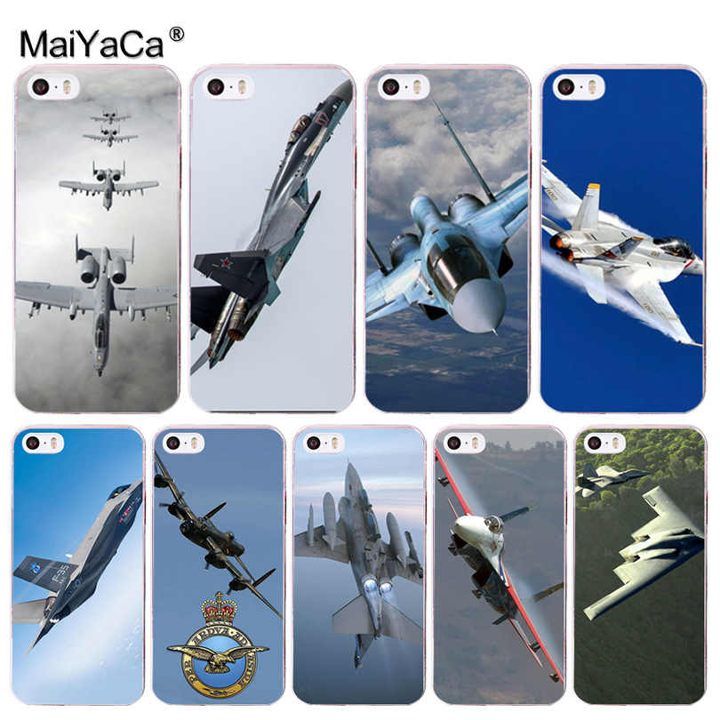 Maiyaca 戦闘機プロペラ飛行機航空機飛行機特別な高級電話ケース用 8 7 6 6 s プラス x 5 5 s 、 se 5C 4 4s カバー