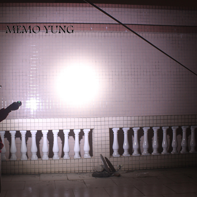 20000 lumens powerful  flashlights  SKYRAY King 10T6 LED torch 10x  CREE XM-L T6 LED Flashlights Torch for 18650 battery