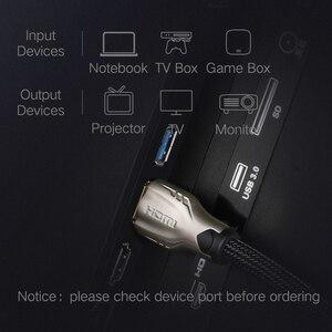 Image 3 - Ugreen Cable HDMI a HDMI 2,0 HDR 4K para Xiaomi Splitter Extender adaptador Nintendo Switch PS4 TV Box 5m 10m Cable HDMI