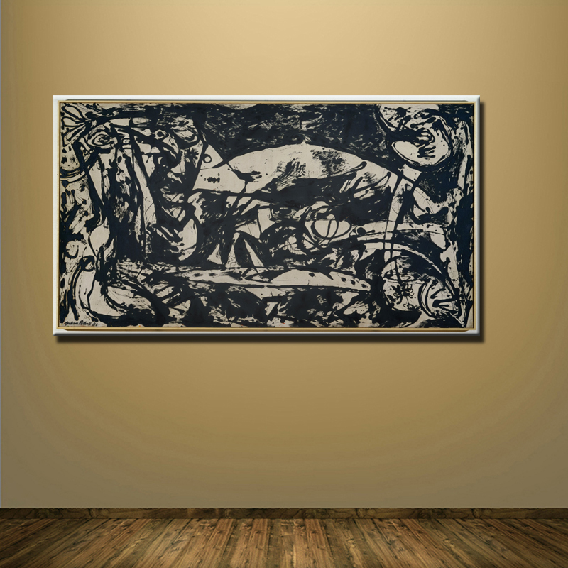 Online Buy Wholesale jackson pollock painting for living room from