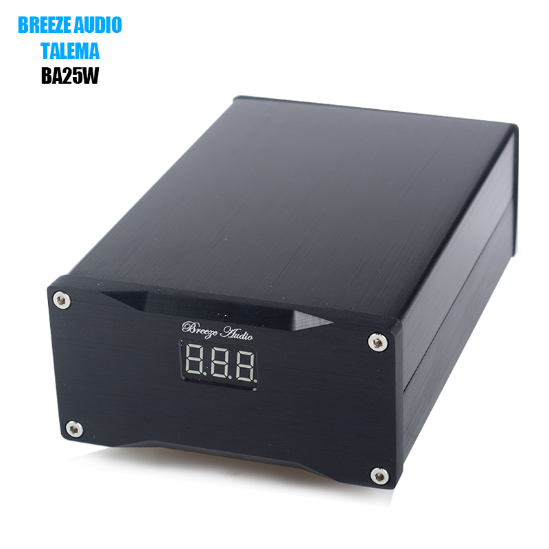 Breeze Audio BA25W Hifi 25 W Ultra low noise Lineaire Voeding Voor DAC audio Versterker Optionele 5 V/7.5 V/9 V/12 V/16 V/24 V-in Versterker van Consumentenelektronica op  Groep 1