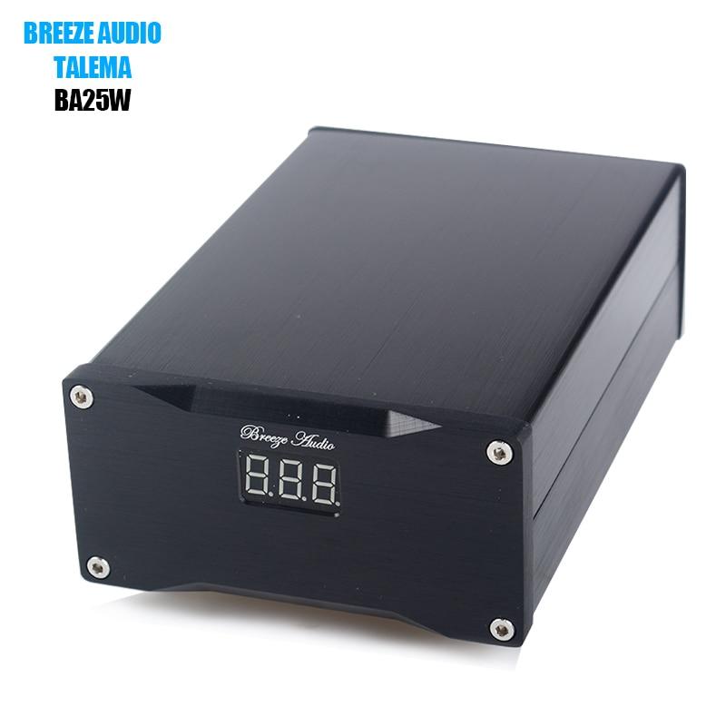 Breeze Audio BA25W Hifi 25W Ultra Low Noise Linear Power Supply For DAC Audio Amplifier Optional 5V/7.5V/9V/12V/16V/24V