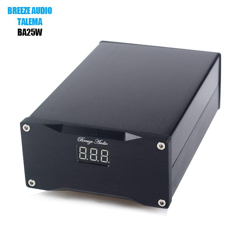 Breeze Audio BA25W Hifi 25 Вт Ультра низкий уровень шума линейный источник питания для DAC аудио усилитель опционально 5 В/7,5 В/9 В/12 В/16 В/24 В