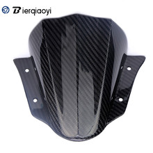 Motorcycle Accessories MT-09 Carbon Fiber Windscreen Wind Deflector Windshield For Yamaha MT 09 MT09 FZ-09 FZ09 FZ 09 2014-2017