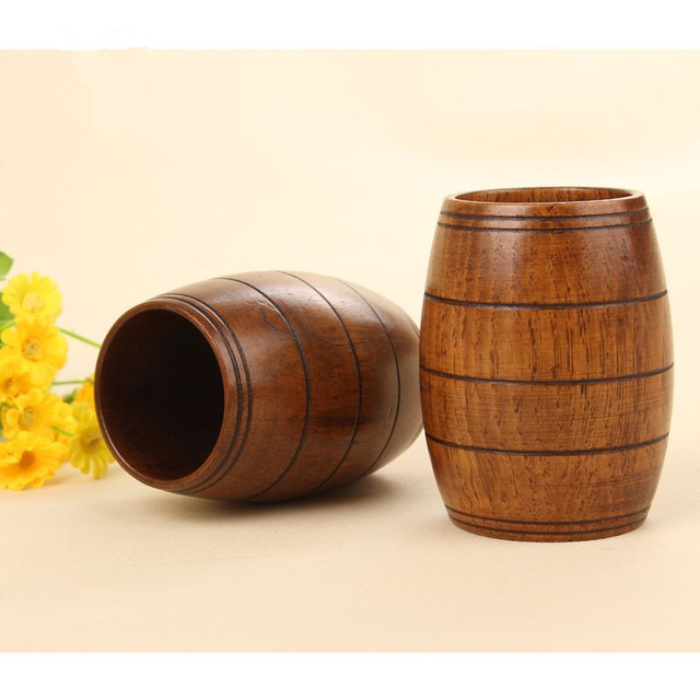 1PCS Wooden Beer Mugs Novelty Beer Cup Creative Eco-friendly Tableware Luxury Beer Bucket Dining  sc 1 st  AliExpress.com : eco friendly tableware - pezcame.com