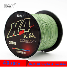 Cheap 4 Strands 300m PE Fishing Line Strong Multifilament Lines 8-80LB Pesca 100% High Japan Breadied line Tackle Tool