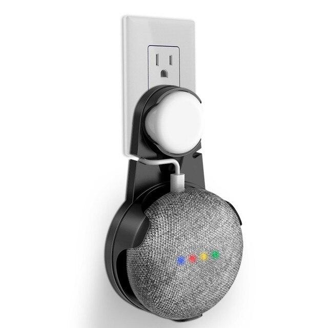 support de support mural pour google home mini un accessoire peu encombrant pour google home mini assistant vocal