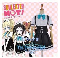 Free Shipping Newest Soul Eater Not Haru Tori Tsugumi Daily Cosplay Costume Perfect Custom For You