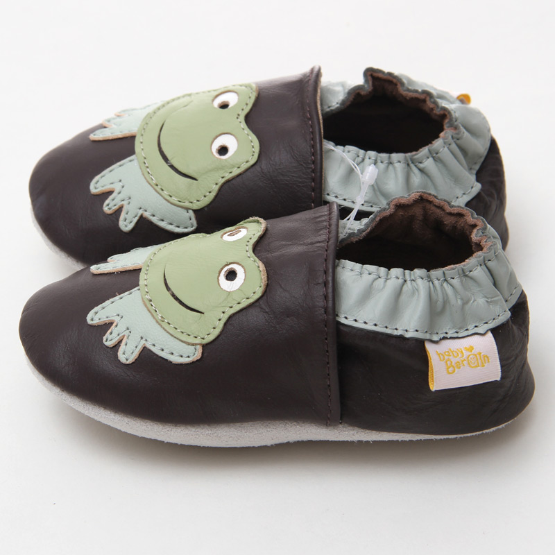 Leder Baby Mokassins Tier Baby Kinder Schuhe Junge Säuglingsschuhe - Babyschuhe - Foto 3