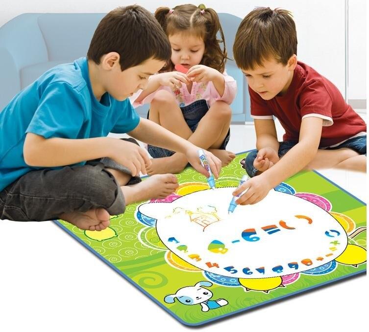 70 * 63 см дети детский многоразовые ткань чертежной доске игрушки / детские магия ватман водой ручка в подарки на день рождения подарки