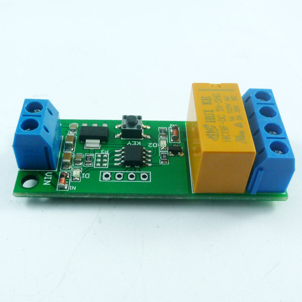 5V~12V DC Motor Reverse Polarity Cyclic Timer Switch Time Repeater Delay Relay