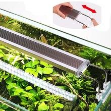 Тонкий светодиодный светильник 220 В серии ADE, светильник для аквариума, светильник для растений, аквариума 12-24 Вт, светодиодный светильник для роста растений