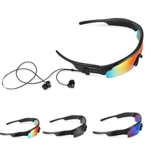 Sport Earphone K06 Polarized Sunglasses Stereo Wireless Headphone  4.1 Bluetooth Riding Cycling Glasses for Iphone Samsung phone