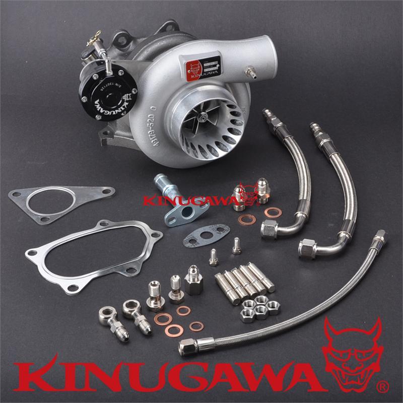 Kinugawa Turbocharger 3 Anti Surge TD05H-18G 8cm for SUBARU IMPREZA STI kinugawa gtx ball bearing turbocharger 3 anti surge gtx2860r ar 64 t25 5 bolt internal page 9