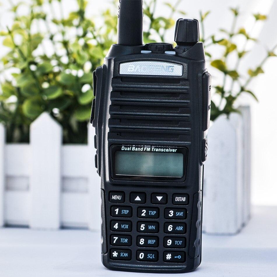 Baofeng uv 82 рация двойная ptt портативная двухсторонняя радиостанция