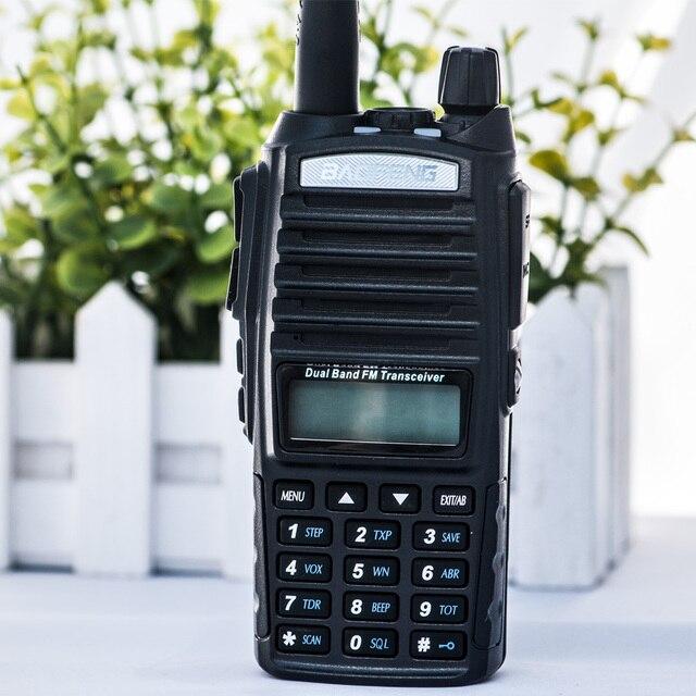 Фото baofeng uv 82 рация двойная ptt портативная двухсторонняя радиостанция цена