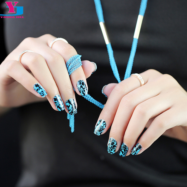 High Quality Fashion Vinyl Nail Art Sticker Real Nail Polish Nails ...