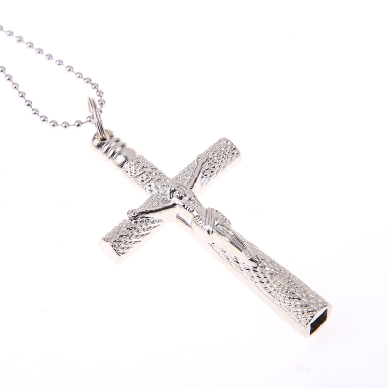 Drum accessories Drum Key Chain Silver Necklace Cross Drum Head Tuning Key Silver Gift