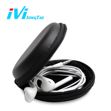 Mini Earphone Case In Ear Wireless Bluetooth Headphones Box Earbuds bag memory SD Card Flash Drive Storage Cover Headset Pouch