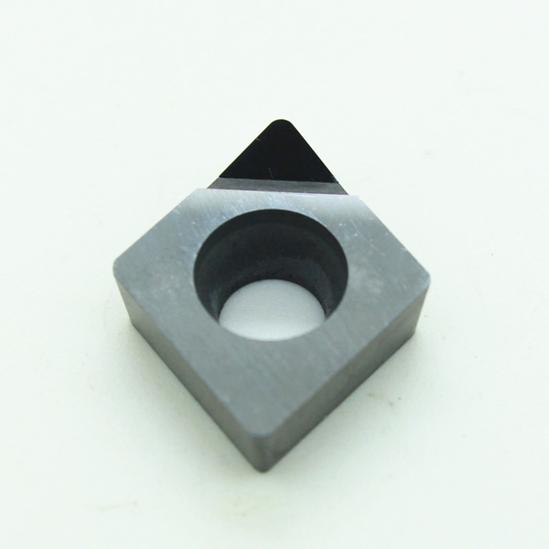 2pcs Dimamond PCD CNC Inserts CCMT060202  CCMT060204 CCGW 060204 CBN Lathe Cutting Tool CCGT 09T304 One Tip Free Shipment