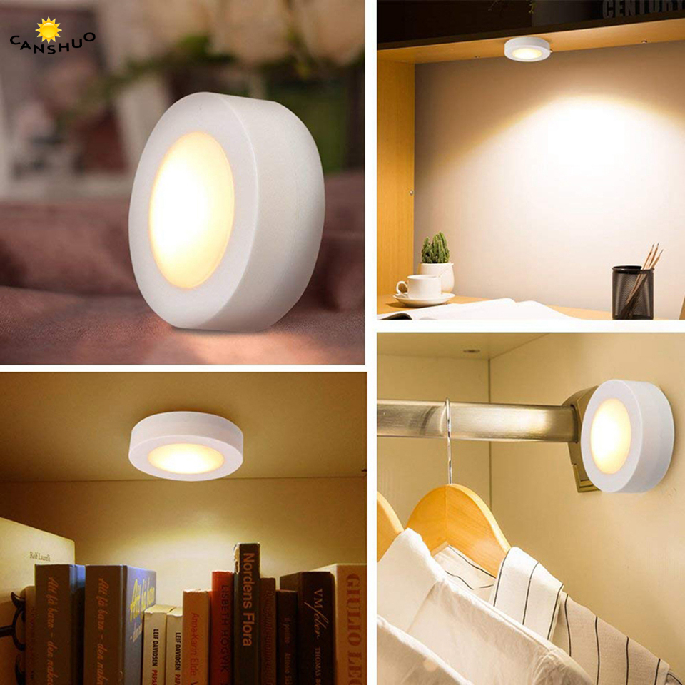 Details About 3pcs Led Under Cabinet Lights Kitchen Cupboard Lamp Dimmable Remote Cool Warm Uk