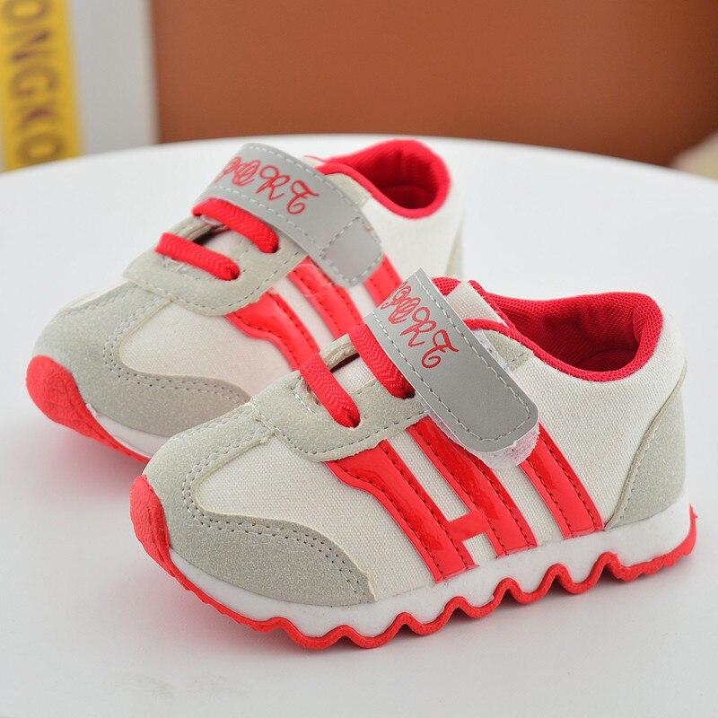 2018 Nowe buty dziecięce dla chłopców Dzieci z Canvas obuwie - Obuwie dziecięce - Zdjęcie 3