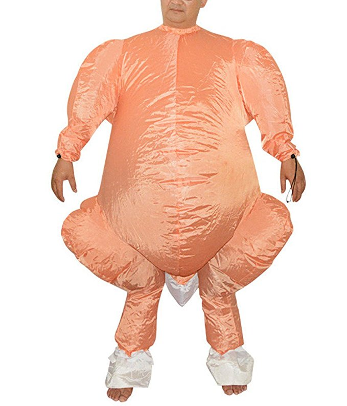 Anime Funny Roast Turkey Inflatable Costume Halloween Costumes For Adult Women Men Cosplay Inflatable Costumes Fancy Dress