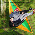 270cm*140cm Double hammock outdoor hammock wholesale parachute cloth Camping hammock Flying Rio outdoor leisure products