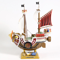 One Piece New World Thousand Sunny Ship PVC Figure Collectible Model Toy