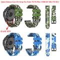 26 мм Камуфляжный быстросъемный ремешок для наручных часов Garmin Fenix 5X 5X Plus 3 3HR MK1 D2 Delta PX D2 Charlie Easyfit