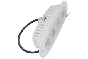 Image 3 - Luz de aluminio impermeable para barco marino de 10 W Luz de cubierta blanca 8 30 V CC