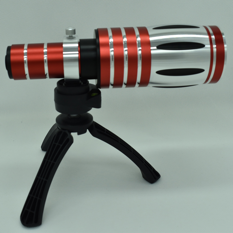Universal Clip Aluminum 50X Optical Zoom Telescope Telephoto Lens Lenses for Samsung Gal ...