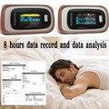 SPO2 PR PI ODI Data analysis Memory Recall Sleep Measure  Fingertip Pulse Oximeter Blood Oxygen SpO2 Alarm setting