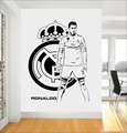 Vinilos Paredes CRISTIANO RONALDO Vinyl Wall Stickers For Boys Bedroom Kids Room Decor Soccer Star Wall Art Decals Mural JW147