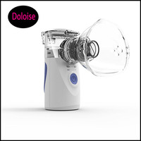 Portable Steam Compressor System Kit Inhaler for Home Kids Adults Therapy Rhinitis asthma Atomized Cool Mist Nebulizer