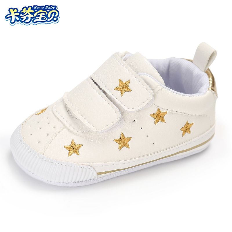 Baby Boys Girls Casual Shoes Newborn Toddler First Walkers Shoes 6 styles 0-18 months Fashion Soft Bottom PU Sneakers