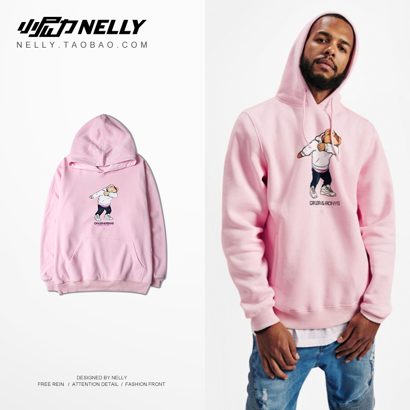 NELLY 2019 Autumn Winter Simple Fashion Hoodie Men Casual Long Sleeve Top Trends Hip Hop Pure Cotton High Quality Sweatshirt(China)
