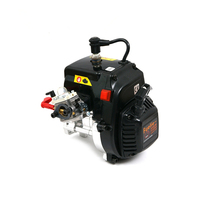 CNC integrated case DTT high power high torque 38cc 2 stroke gasoline engine for 1:5 gasoline HPI BAJA LOSI 5IVE T MCD RC car