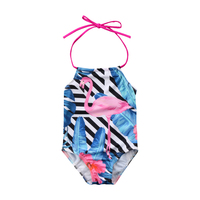 bbdb020b33b40 ITFABS 2-8Y Kids Baby Girl one piece bikini swim bodysuit girls Flamingo Swimwear  Swimsuit