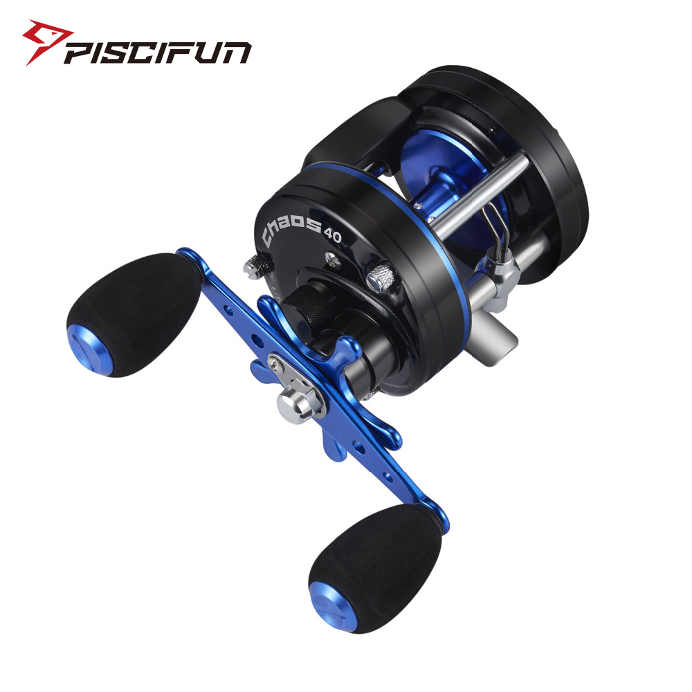 Piscifun CHAOS Right Left Handed Metal Fishing Bait casting Reel Super 5 3 1 Max drag