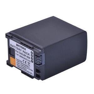Image 3 - 1Pc 2900mAh BP 820 BP 820 Batteria per Canon LEGRIA GX10, XF400, XF405 HFG20, HFG30, HFG40, HFM41, HFM400, HFS21, HFS30