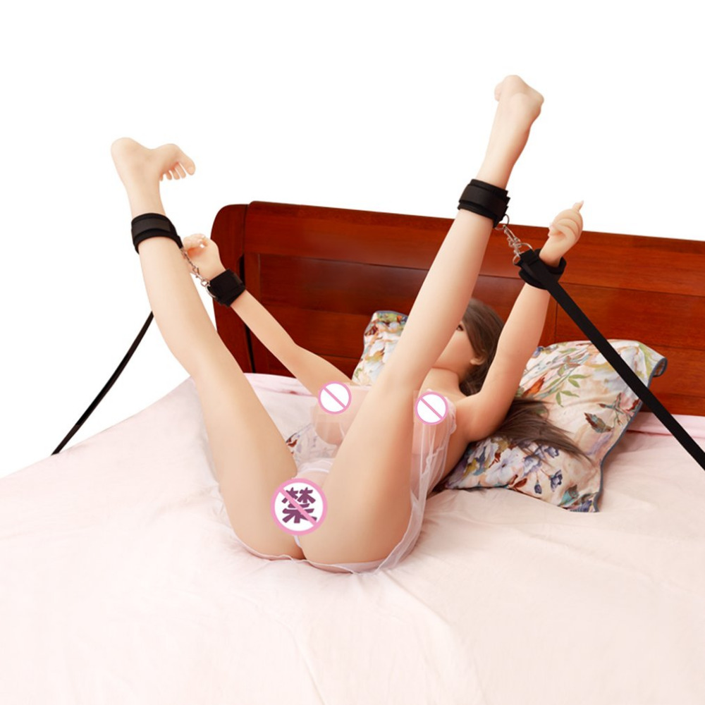 Bondage Set Vibrator For Women Adult Role Game Sex Toys For Couples Nylon Handcuffs For Sex