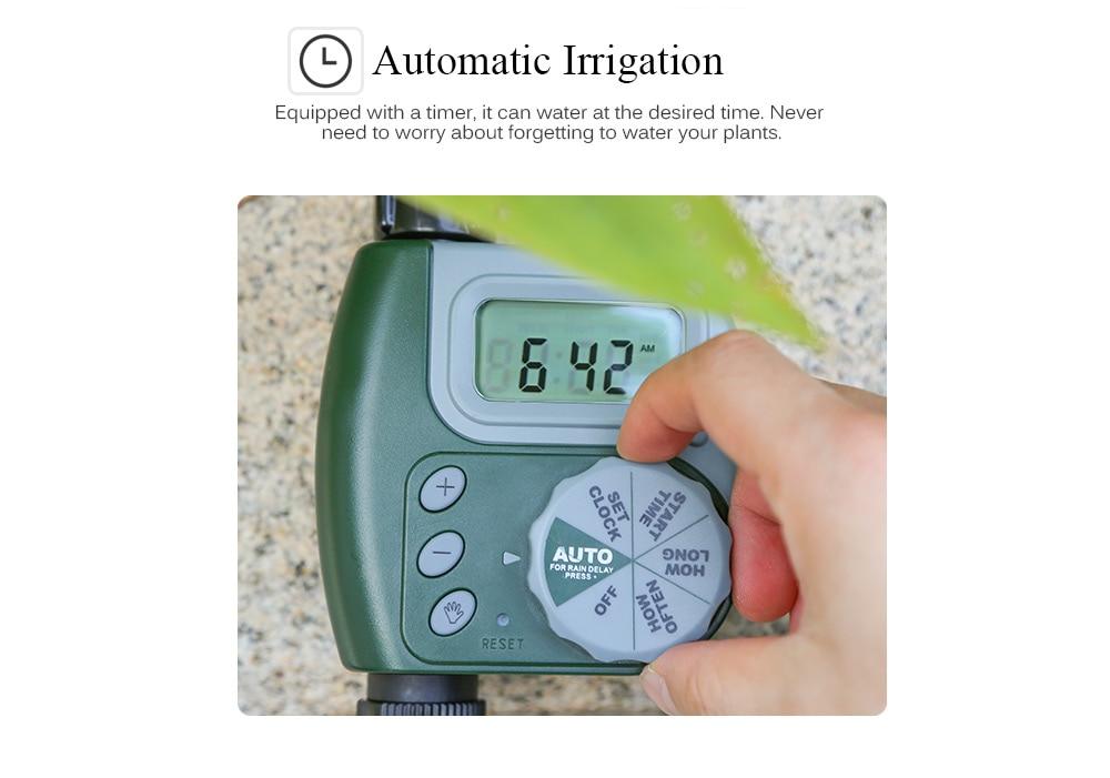 HTB1TrjzaNv1gK0jSZFFq6z0sXXat 30m Automatic Micro Drip Irrigation System Garden Irrigation Spray Self Watering Kits with Adjustable Dripper