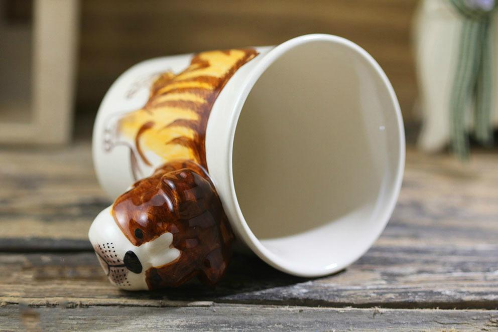 Cute Bulldog Ceramic Mug | Moon Discount
