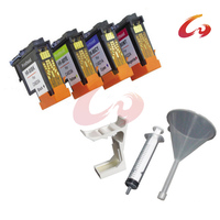 4 Pcs Printhead For HP 80 Print Head With C4820A C4821A C4822A C4823A 1 Set Printer